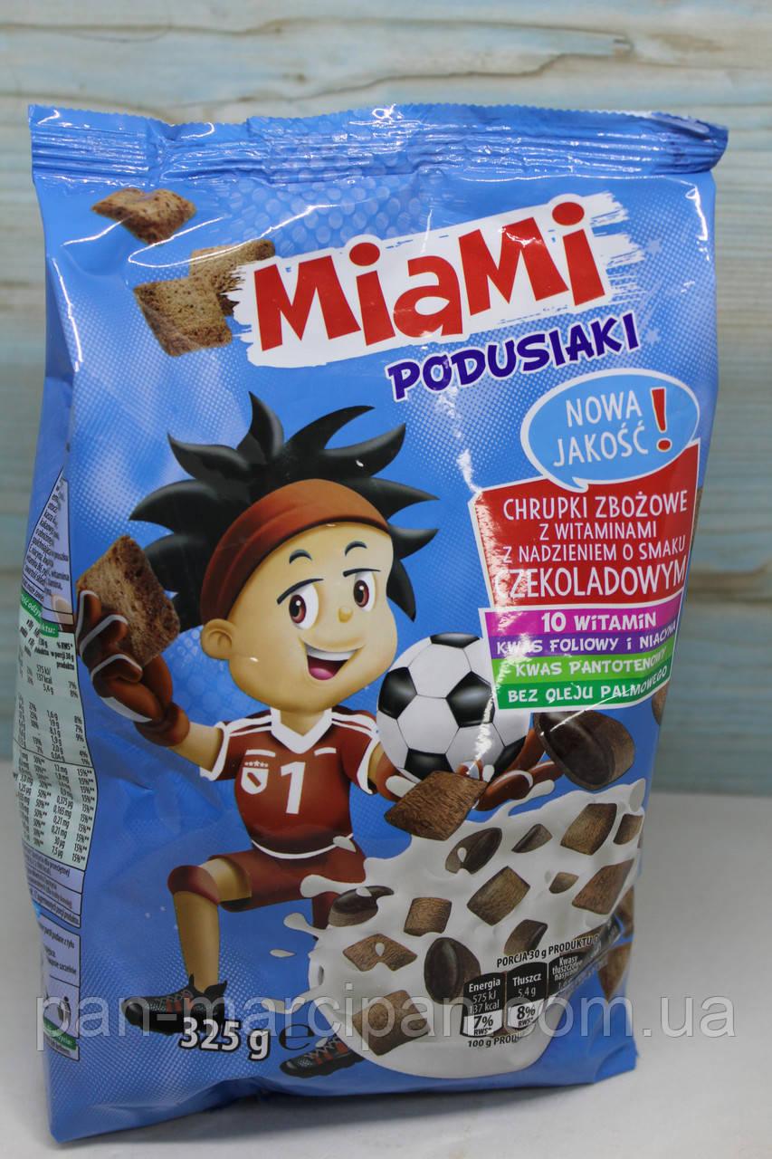 Сухі сніданки Miami Podusiaki з шоколадним смаком 325 р