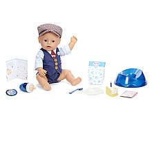 Кукла Baby Born Беби Борн мальчик голубоглазый с Днем Рождения Zapf 917479