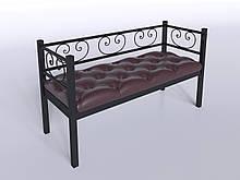 Комплект диван с креслом Tenero Грин Трик 1 Черный (100000182)