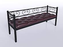 Комплект диван с креслом Tenero Грин Трик 2 Черный (100000183)