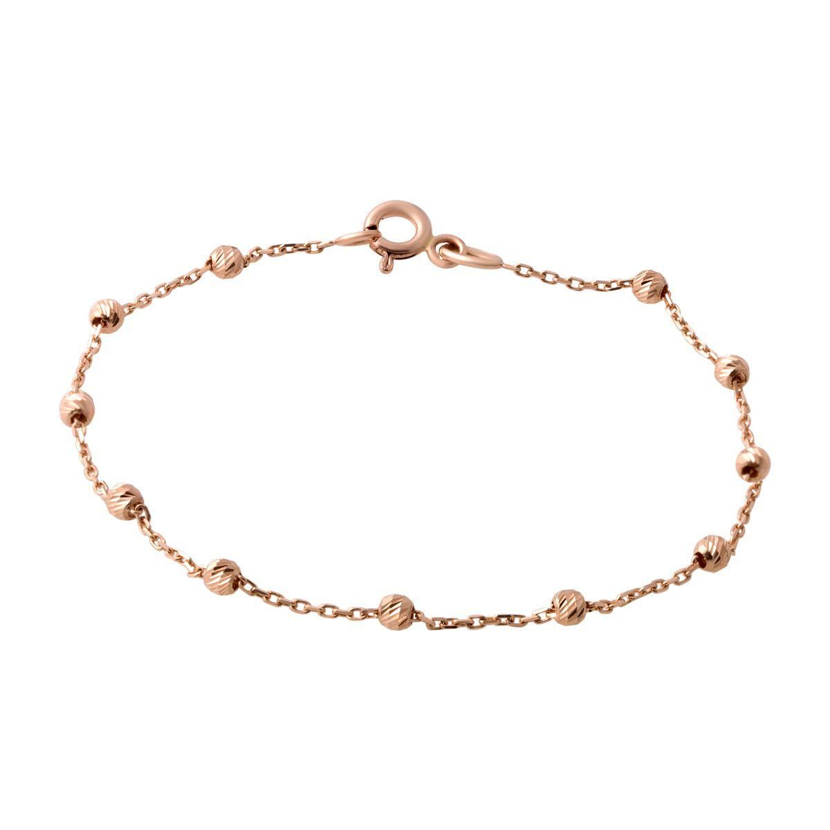 Золотой браслет DreamJewelry без камней (2066026) 18 размер