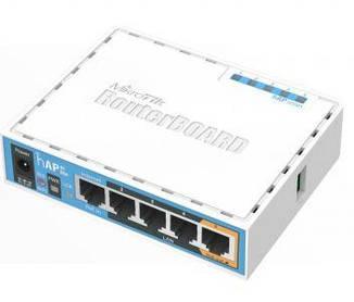 Wi-Fi маршрутизатор MikroTik hAP (RB951Ui-2nD)