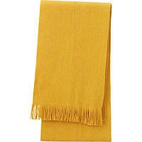 UNIQLO теплый вязаный термо шарф с технологией Heattech