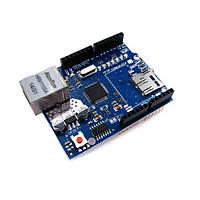 Сетевой модуль Ethernet Shield для Arduino, W5100, 102969