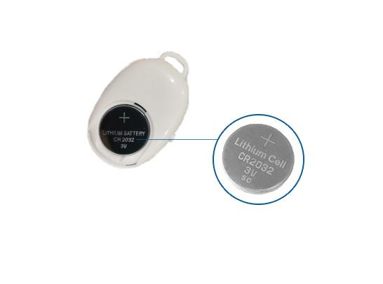 Белая кнопка Bluetooth для смартфона батарейка