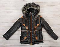 """Детская зимняя  куртка-парка """"Марио"""" для мальчика"""
