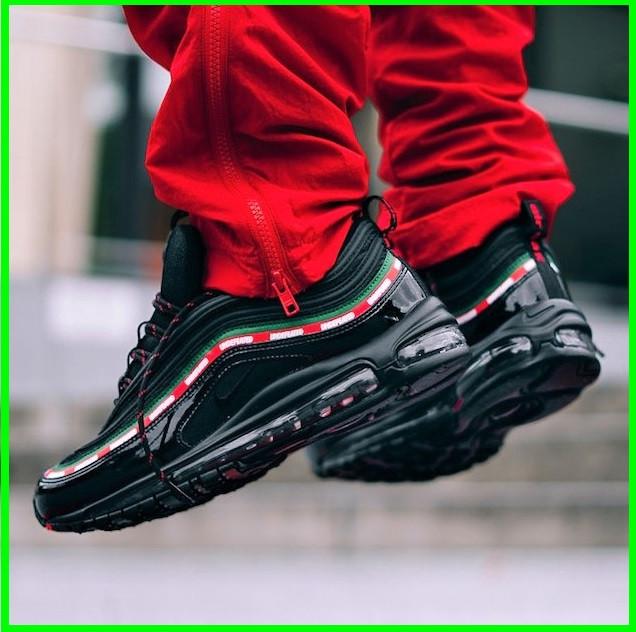 Кросівки N!ke Air Max 97 Чорні Найк Чоловічі (розміри: 42,43,44,45) Відео Огляд
