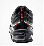 Кросівки N!ke Air Max 97 Чорні Найк Чоловічі (розміри: 42,43,44,45) Відео Огляд, фото 10