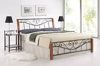 Двуспальная кровать Signal Parma 180/200
