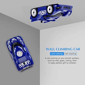 Антигравітаційна машинка на радіоуправлінні Wall Climber 801 Синій, фото 2