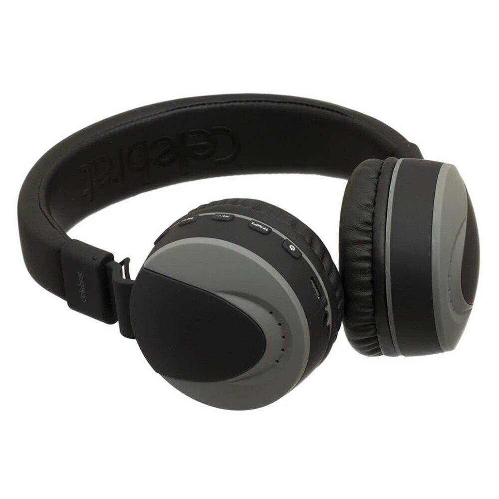 Бездротові Bluetooth-навушники гарнітура Celebrat A9 Чорні