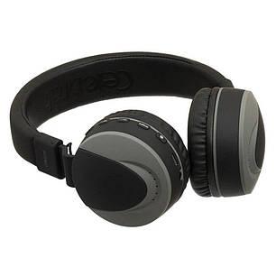 Бездротові Bluetooth-навушники гарнітура Celebrat A9 Чорні, фото 2