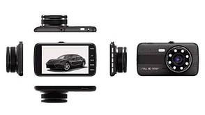 Видеорегистратор с выносной камерой заднего вида T-805 Dvr 1080 Full HD, фото 2