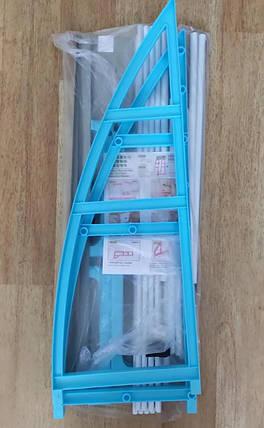 Полка-стеллаж напольная над стиральной машиной WM-63 Розовая, фото 2