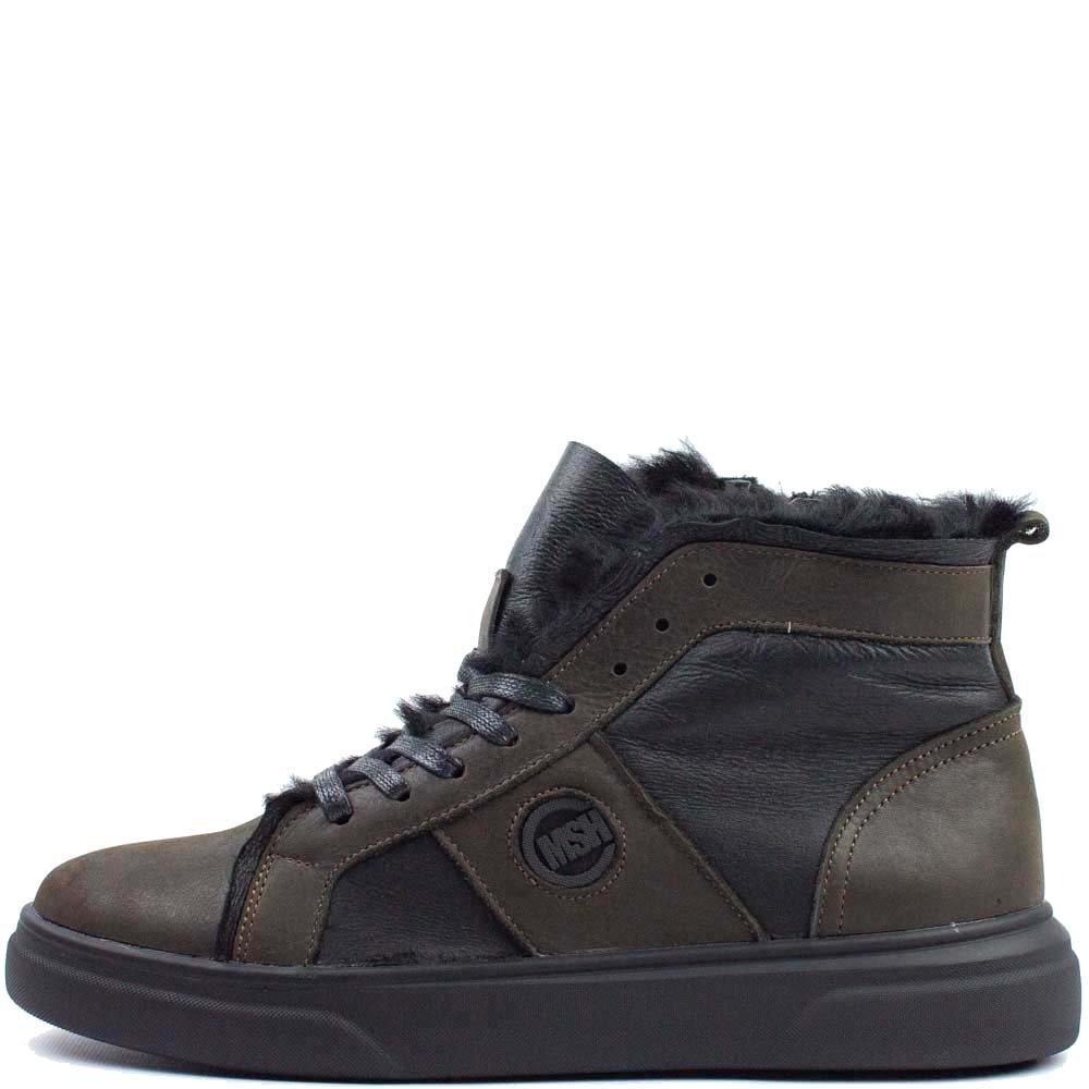 Ботинки Multi-Shoes KV М 562107 Коричневые