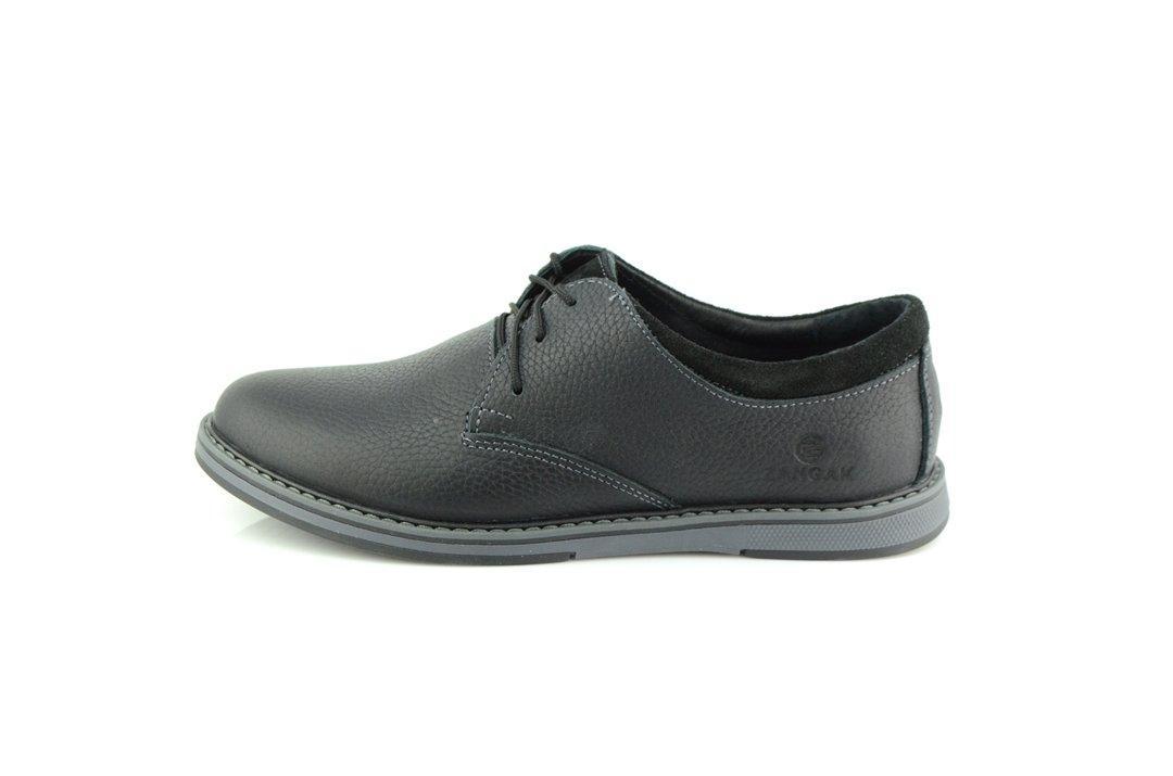 Туфли Zangak 14 GEQ 2 555941 Чёрные серые