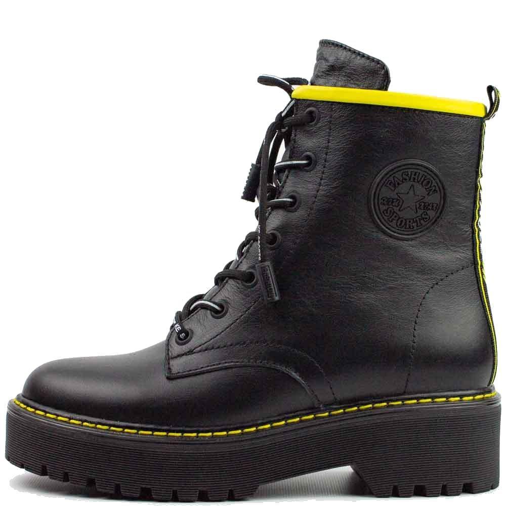 Ботинки Teona 20202 Ж 561387 Черные