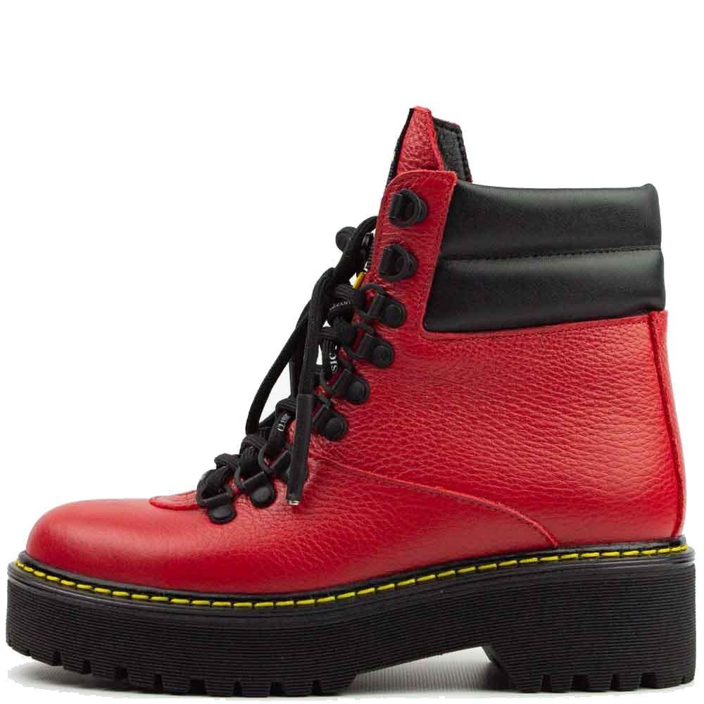Ботинки Teona 20286 Ж 561339 Красные