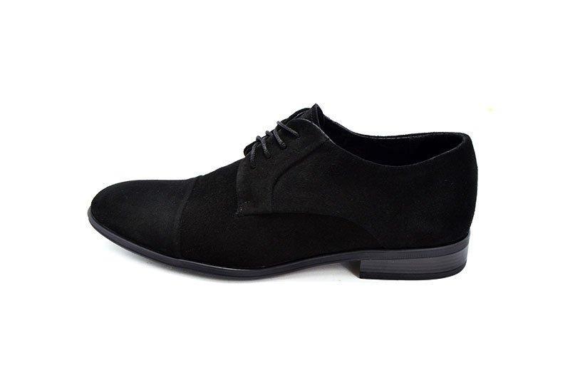 Туфли замшевые VanKristi 247 М 555939 черные