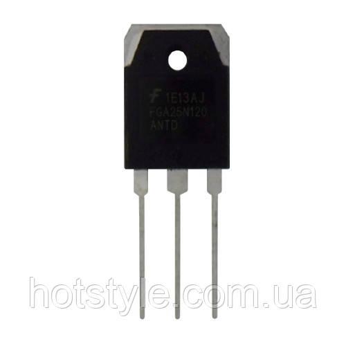 Чип FGA25N120 25N120 TO-3P, Транзистор IGBT 1200В 25А +диод