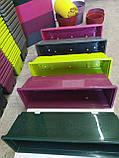 Балконный ящик с поддоном салатовый, 50см, фото 2