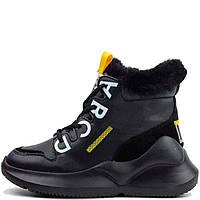 Черевики зимові Allshoes 120 HS 559674 Full Чорні, фото 1