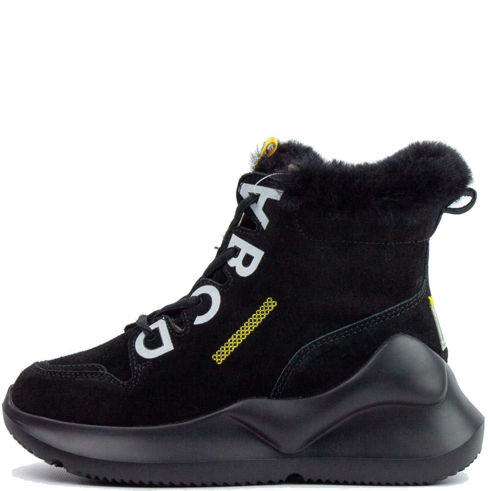 Черевики зимові Allshoes 120 HS Чорні 559675