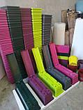 Балконный ящик с поддоном розовый, 50см, фото 2