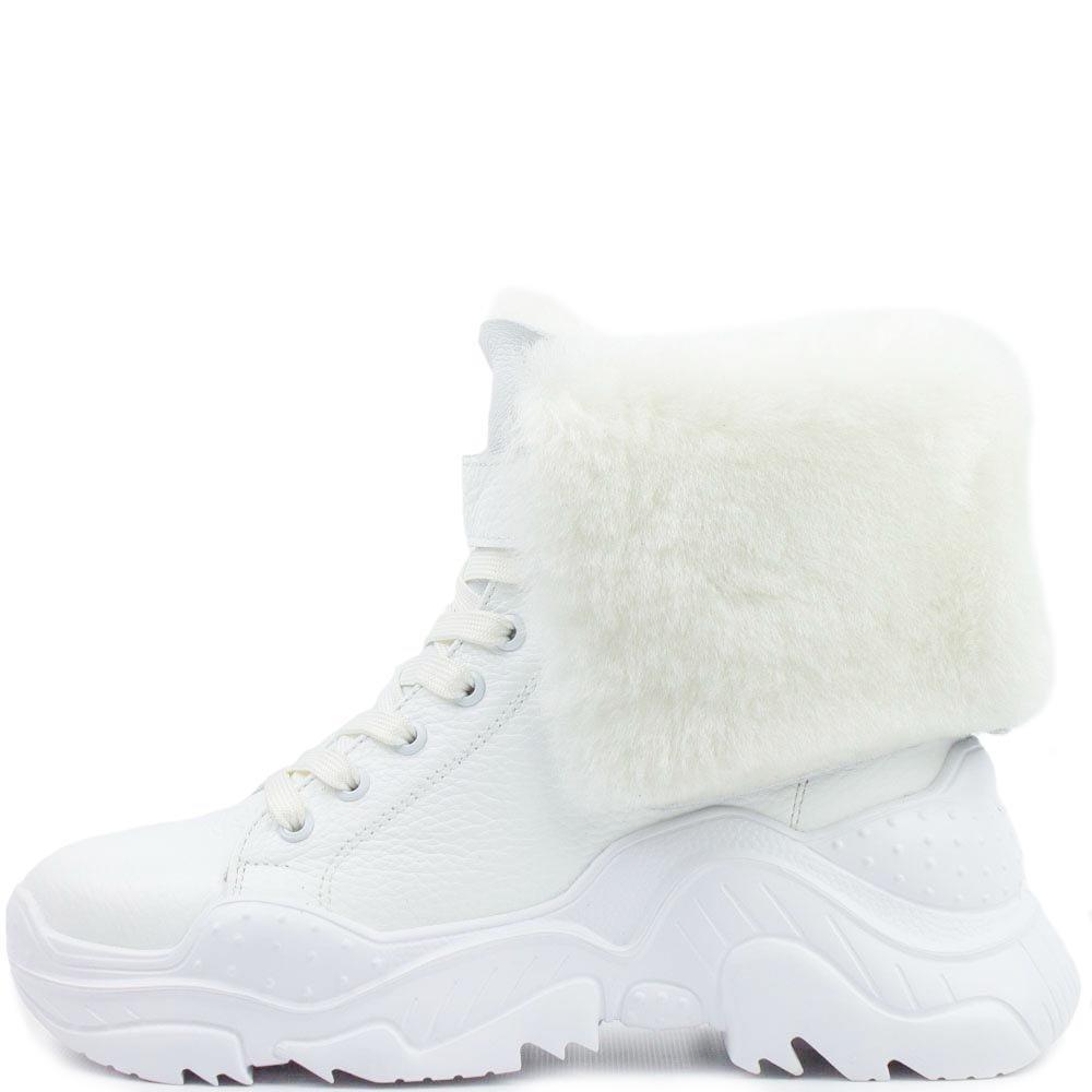 Ботинки зимние markos chrome 1525 BE2 560056 Белые