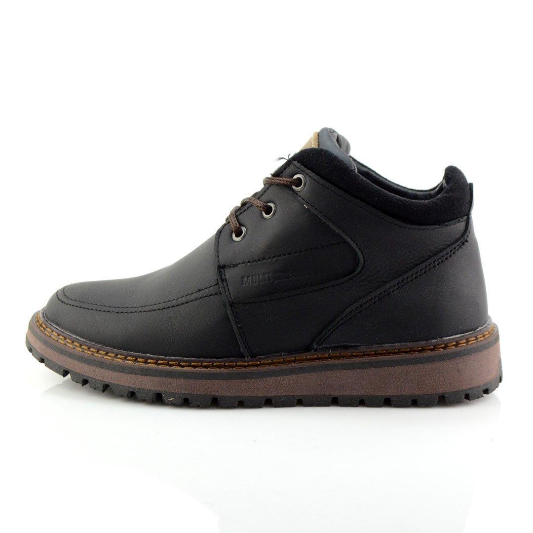 Ботинки зимние подростковые Multi-Shoes Cross FF 559735 Чёрные