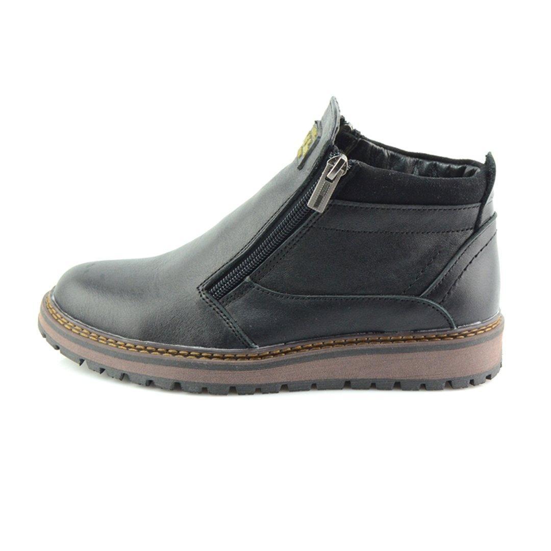 Черевики зимові підліткові Multi-Shoes TOP W2 559580 Чорні