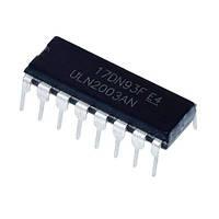Чип ULN2003AN ULN2003 DIP16, Транзисторная сборка Дарлингтона 50В 500мА, 102580