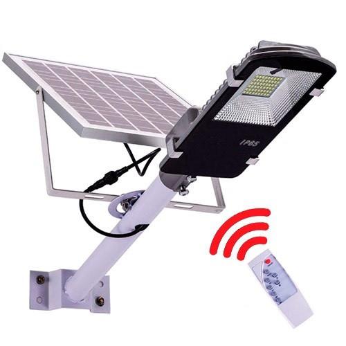 Уличный фонарь на солнечной батарее 20Вт 6000мАч солнечная система освещения, 104857