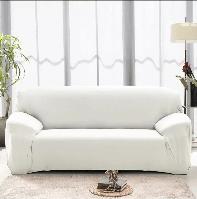 Однотонный чехол на любой диван, фото 1
