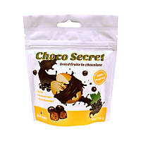 Конфеты из сухофруктов в шоколаде Choco Secret. Дыня в ягодной оболочке, 50 г