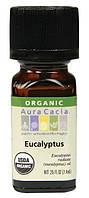 Эфирное органическое масло эвкалипта Aura Cacia, 7,4 мл