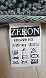 Набір бавовняних килимків для ванної кімнати Zeron 60*100 + 50*60 Сotton mat бежевий, фото 4