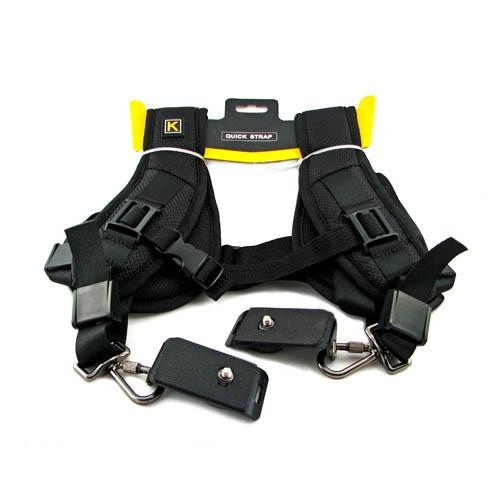 Плечевой ремень на 2 камеры, двойной наплечный, 103176