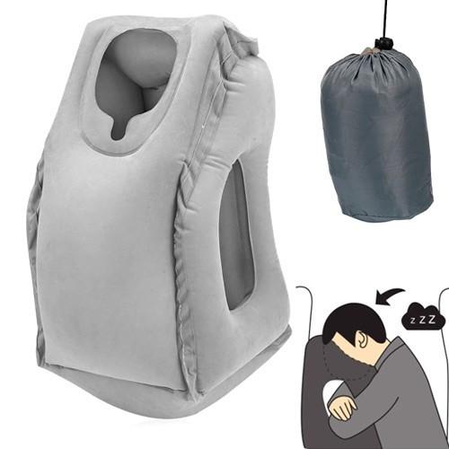 Подушка обнимательная надувная самолетная для путешествий, самолета, 103263