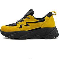 Кроссовки Ando Borteggi 405 RH2 560365 Желтые, фото 1