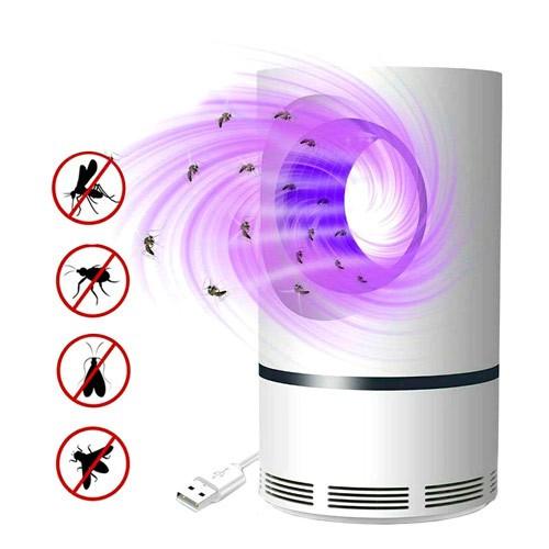 Лампа пастка для знищення комарів комах USB, JUN BO JB-666, 105108