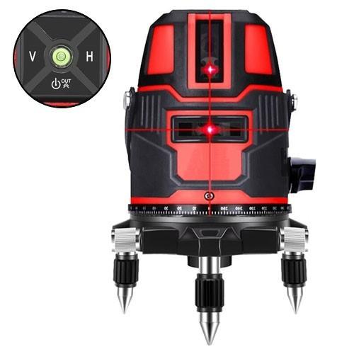 Професійний лазерний рівень нівелір, 5 ліній 6 точок Hilda LS-050, 103407
