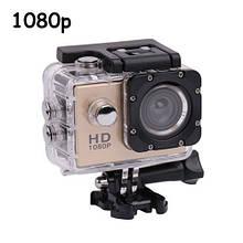 Видеокамера, экшн-камера водонепроницаемая 1080p, A7, комплект креплений, 104048