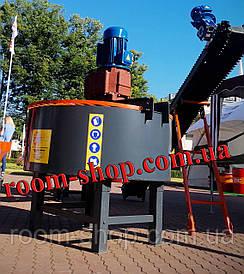 Бетонозмішувач (бетономішалка, змішувач, мішалка) безперервної дії об'ємом 750 л.
