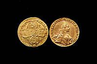 Пять рублей Екатерины 2 1763 года №102 копия, фото 1