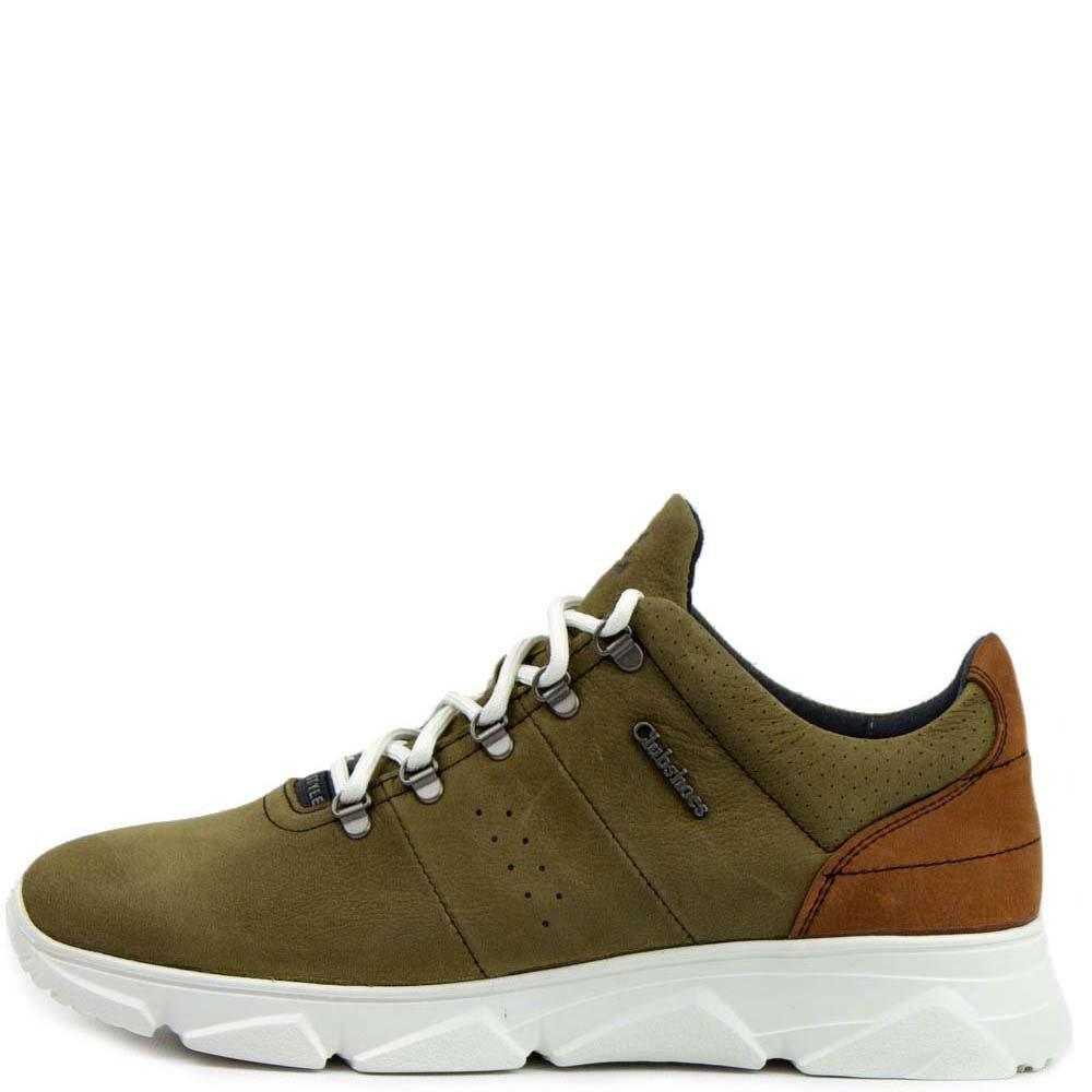 Кросівки Club shoes 19/43 FQ2 560228 Хакі