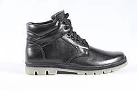 Зимняя кожаная обувь