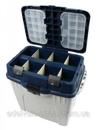 Зимний ящик для рыбалки Aquatech 2870 большой, фото 2