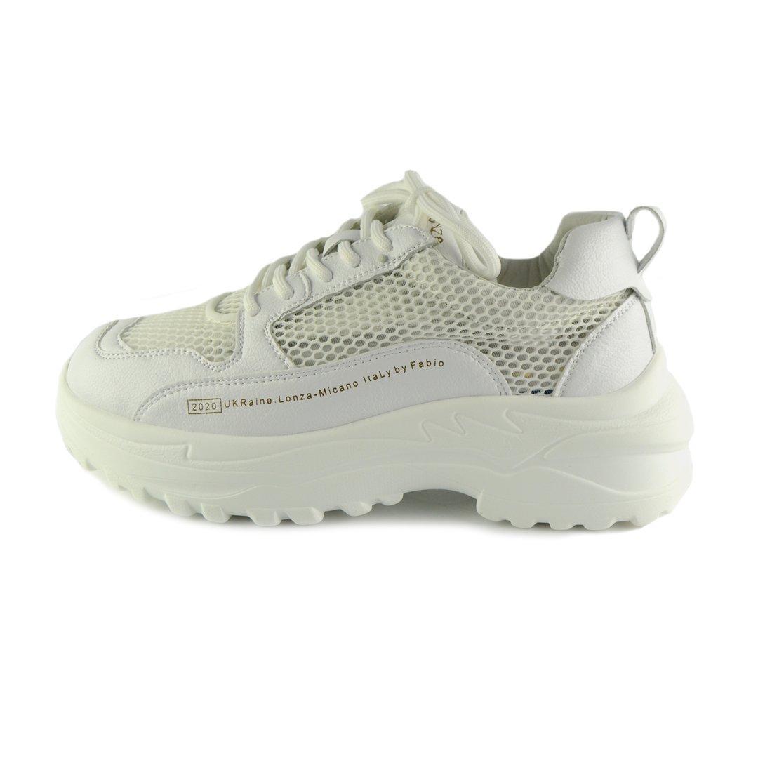 Кросівки жіночі Allshoes 50209 GE2 560423 білі