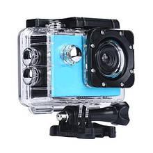 Водонепроницаемая спортивная экшн камера F60 Синяя